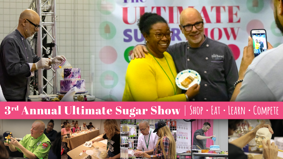 Attend Atlanta's Largest Cake Show at the Cobb Galleria in September 2020!