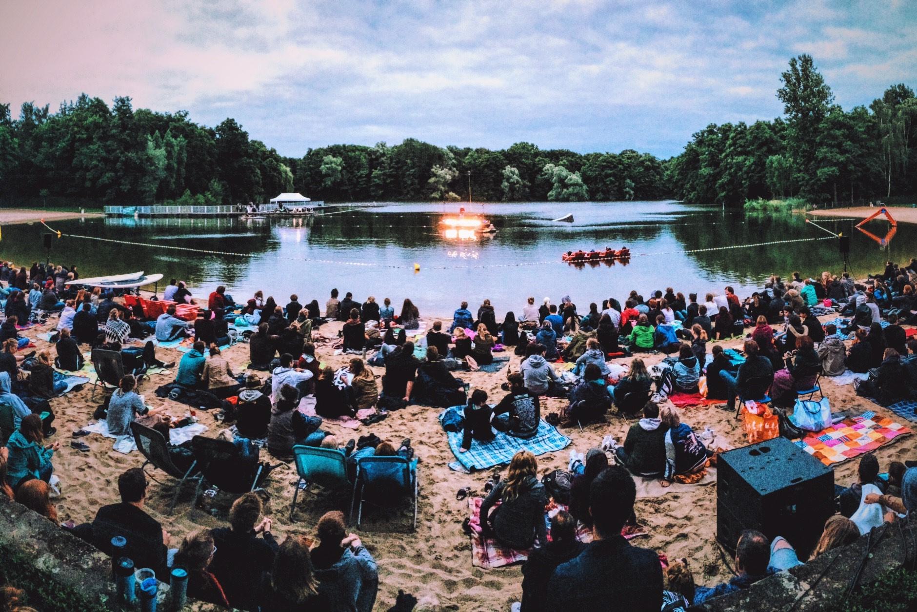 der beste Poetry Slam der Welt - Open Air am Strand - Strandbad Jungfernheide Berlin