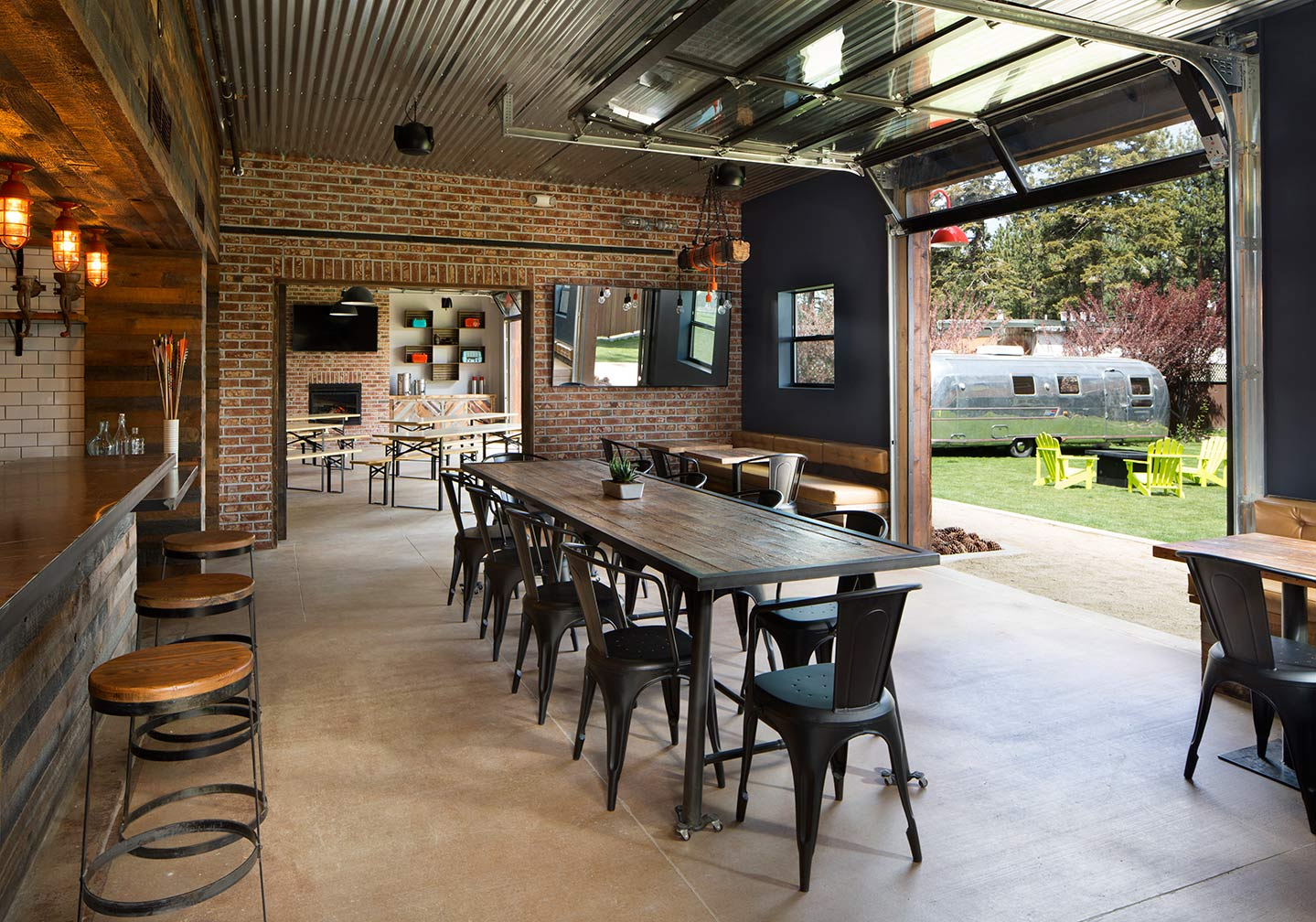 Beer Garden and the Barn