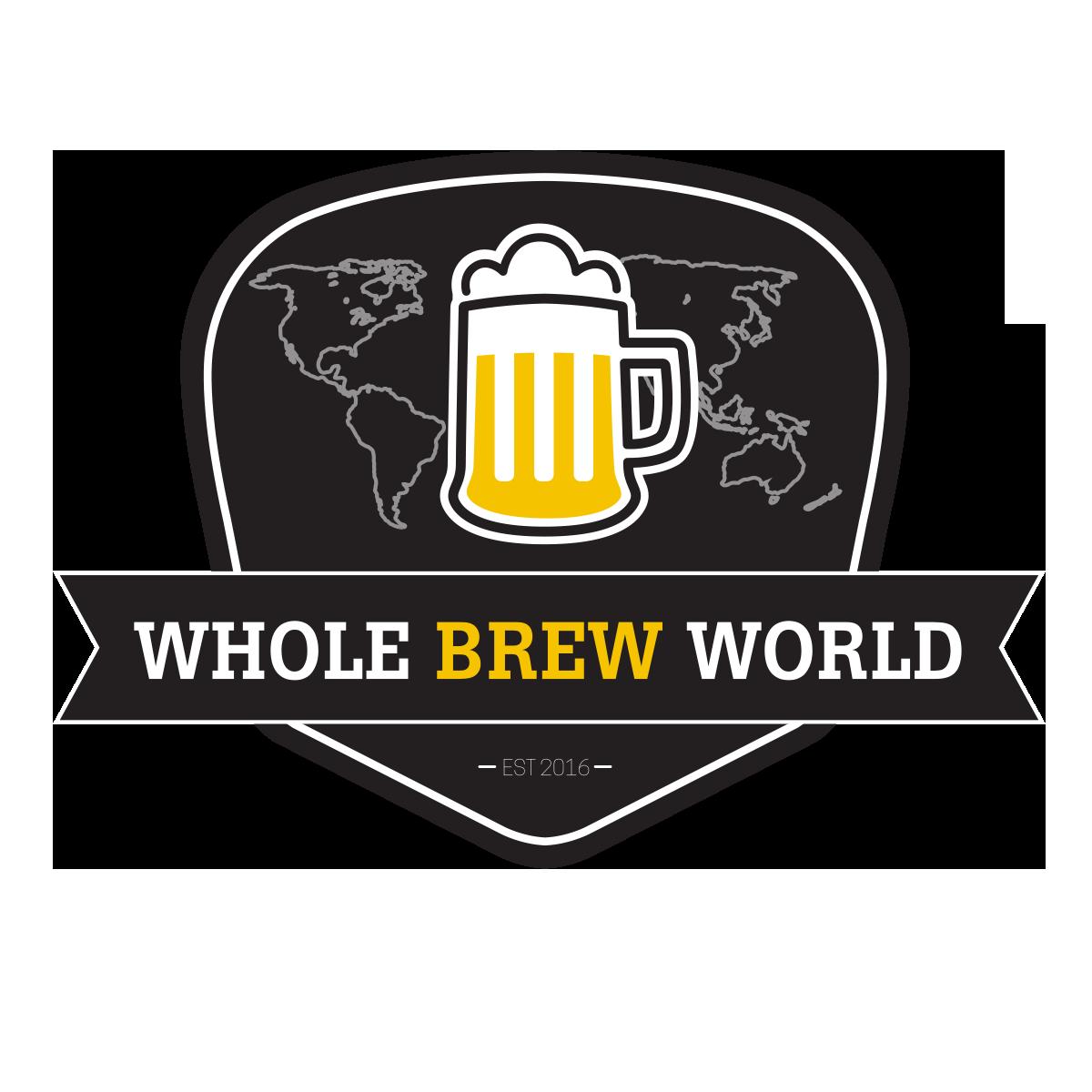 Whole Brew World Beer Trip Logo