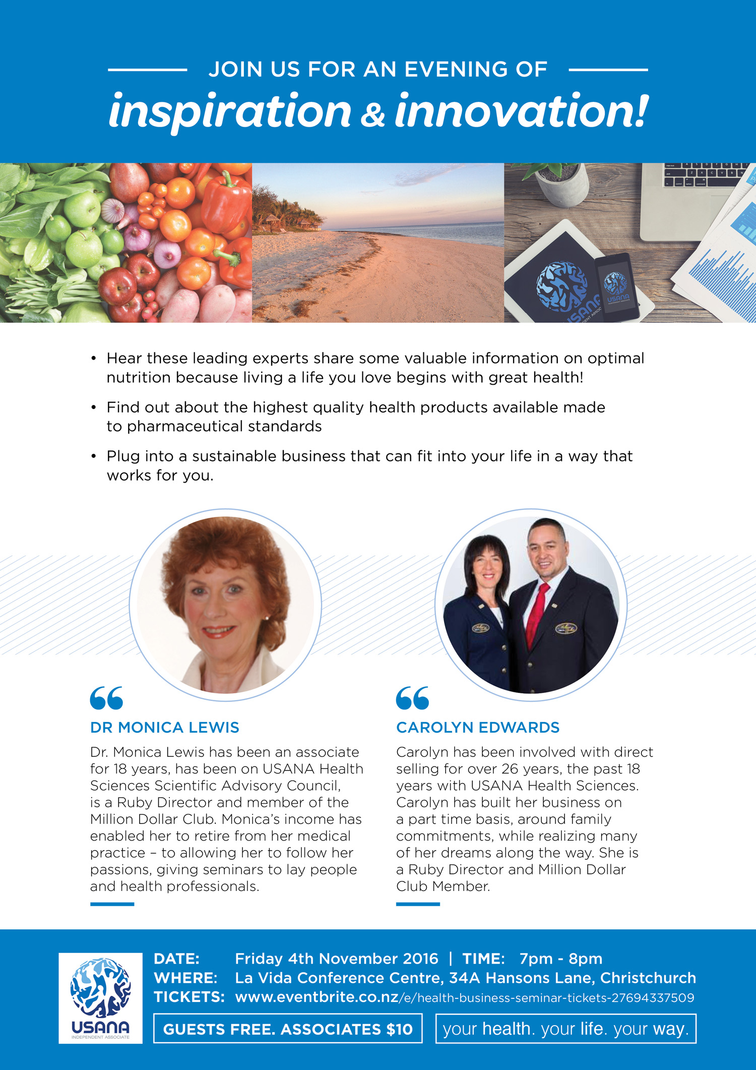 Health and Freedom Flyer