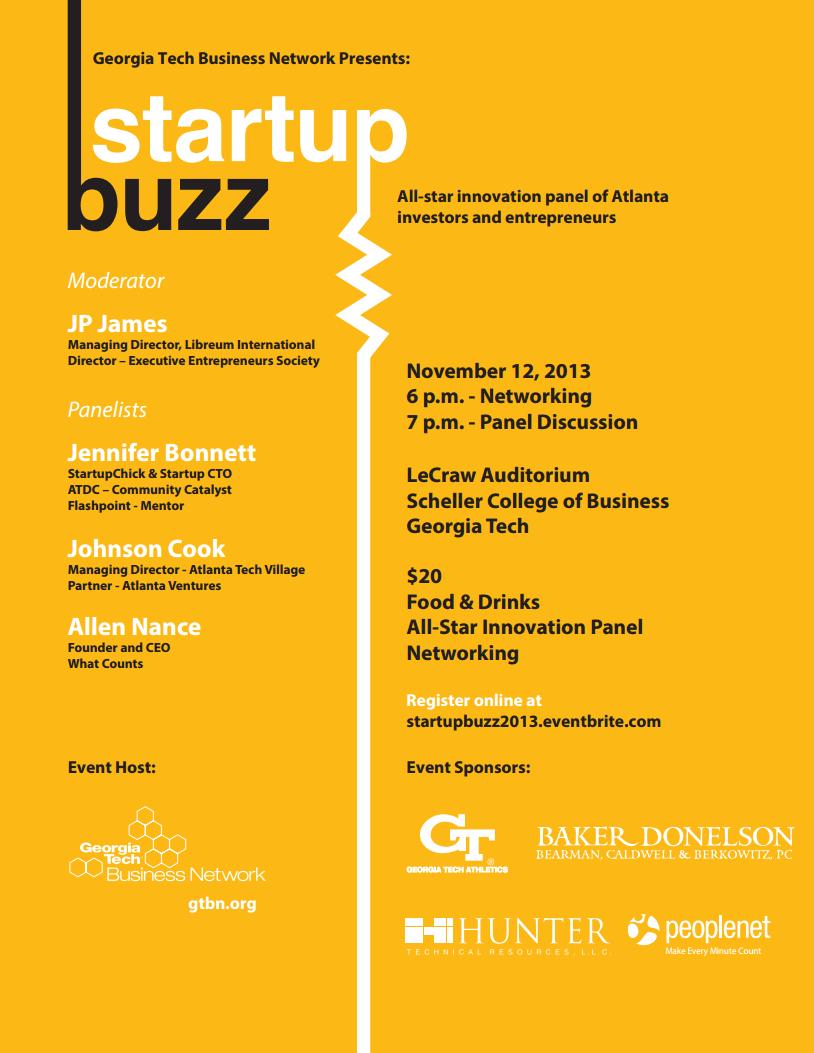 Startup Buzz 2013