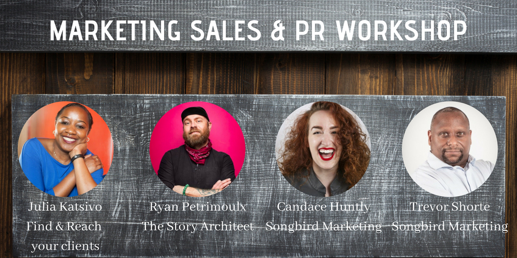 Marketing Sales & PR Workshop