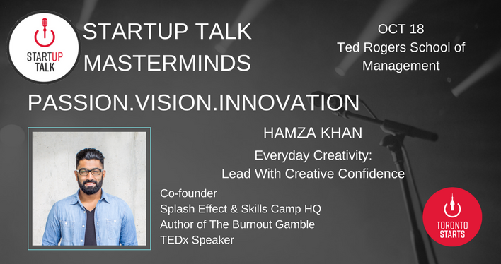 Startup Talk Masterminds Hamza