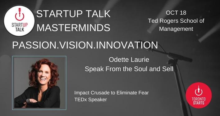 Startup Talk Masterminds Odette