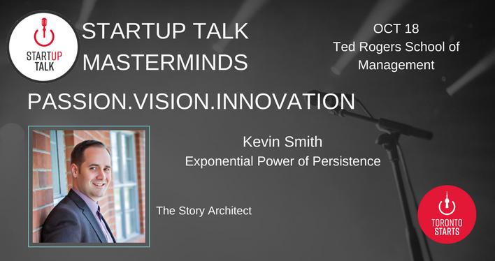 Startup Talk Masterminds Kevin