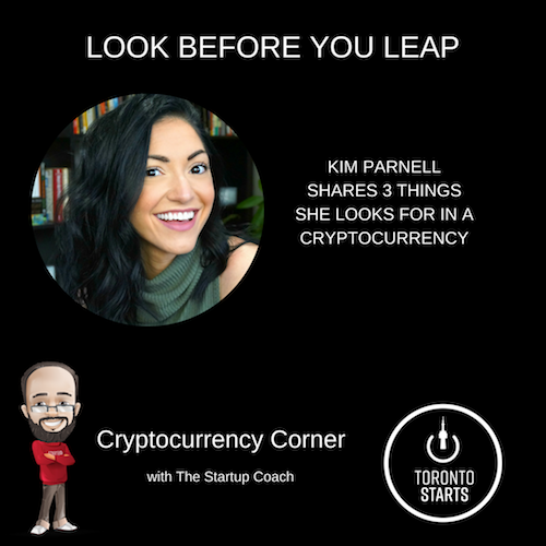 Cryptocurrency Corner with The Startup Coach