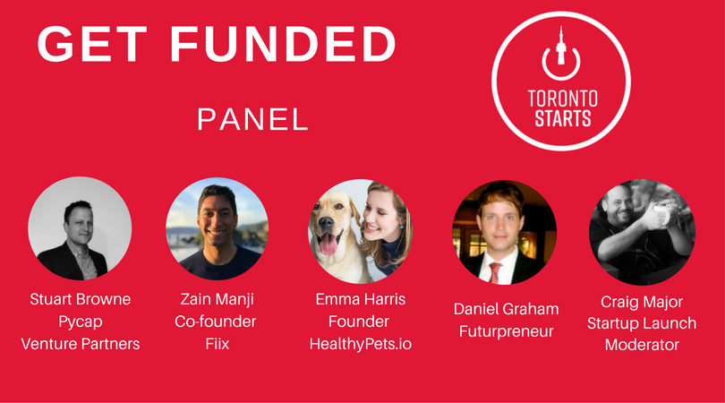 Get Funded with TorontoStarts Panel