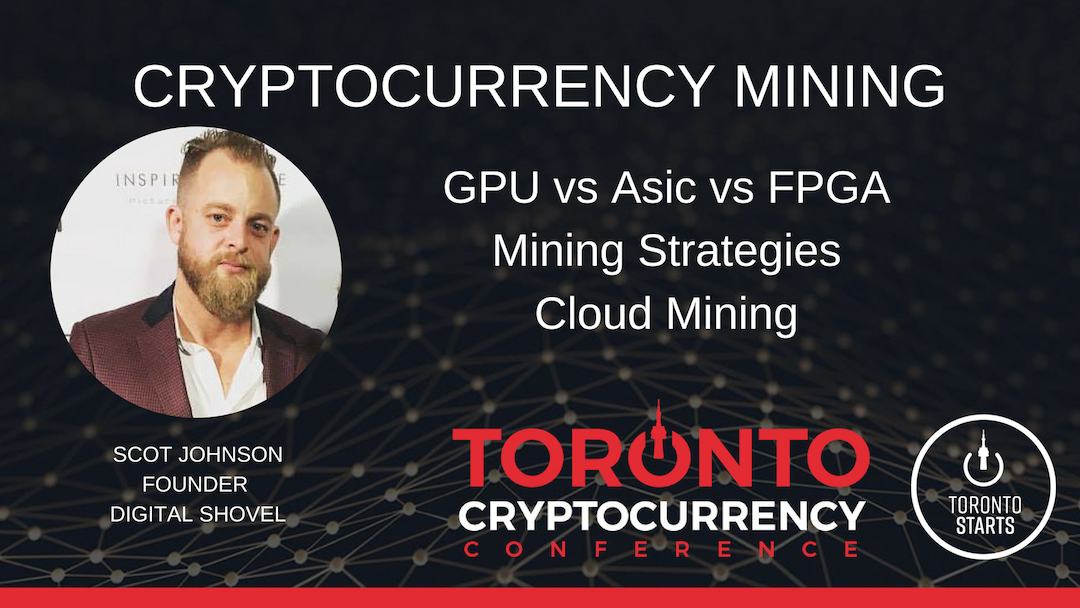 MINING TORONTO CRYPTOCURRENCY CONFERENCE