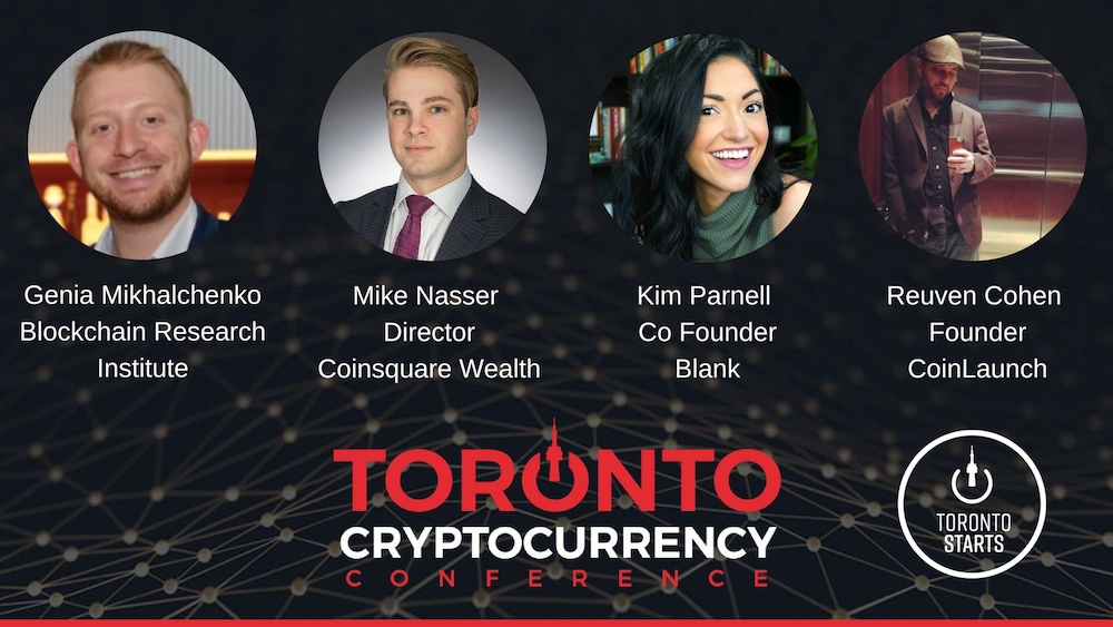 Cryptocurrency panel