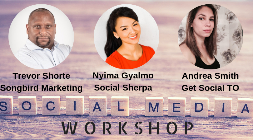 Social Media Workshop with TorontoStarts