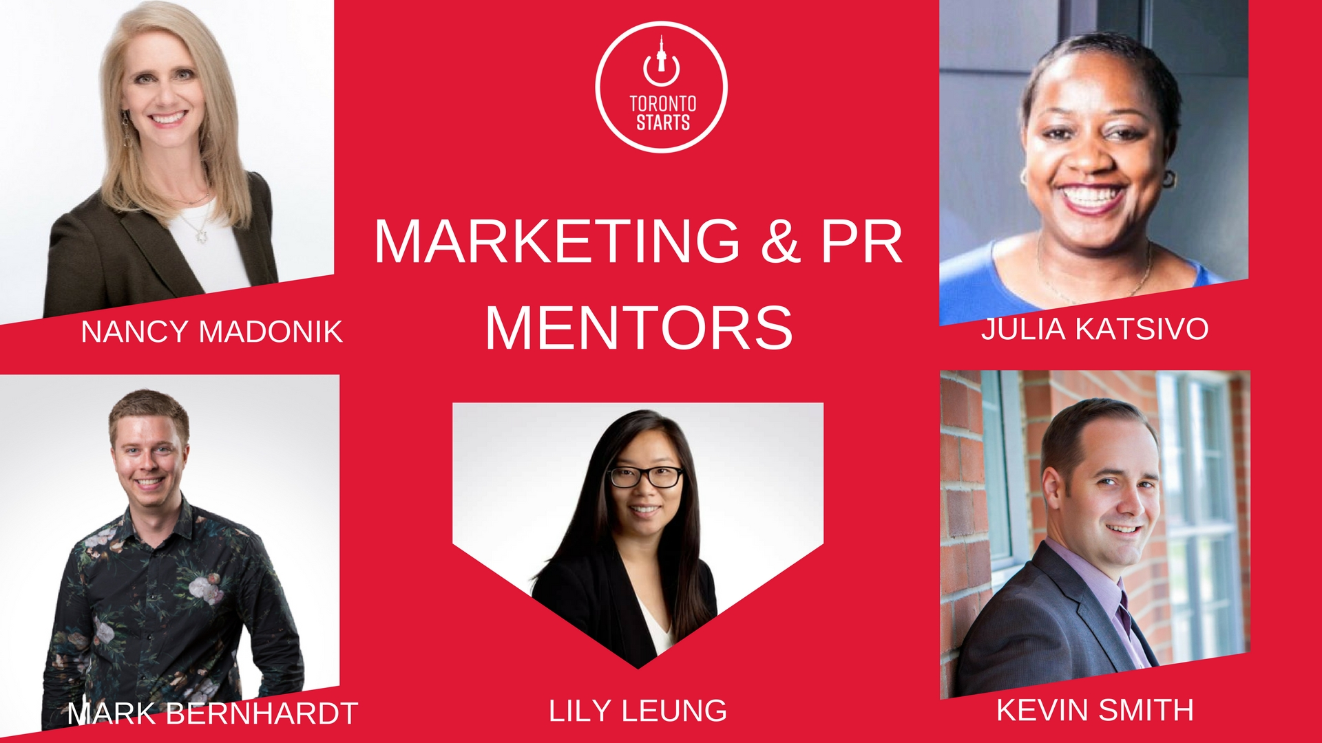 TorontoStarts Marketing & PR Mentors