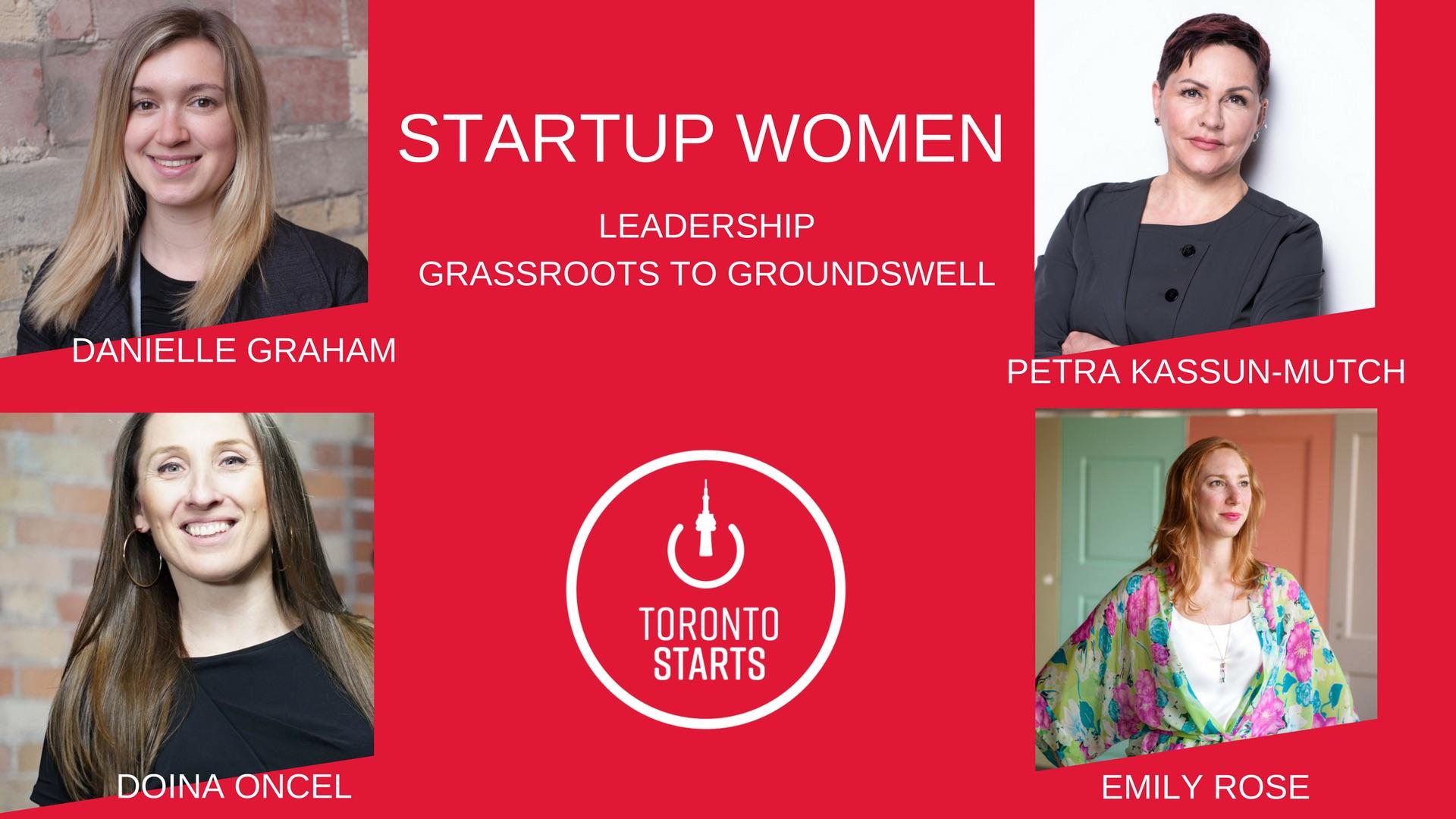 Startup Women Leadership