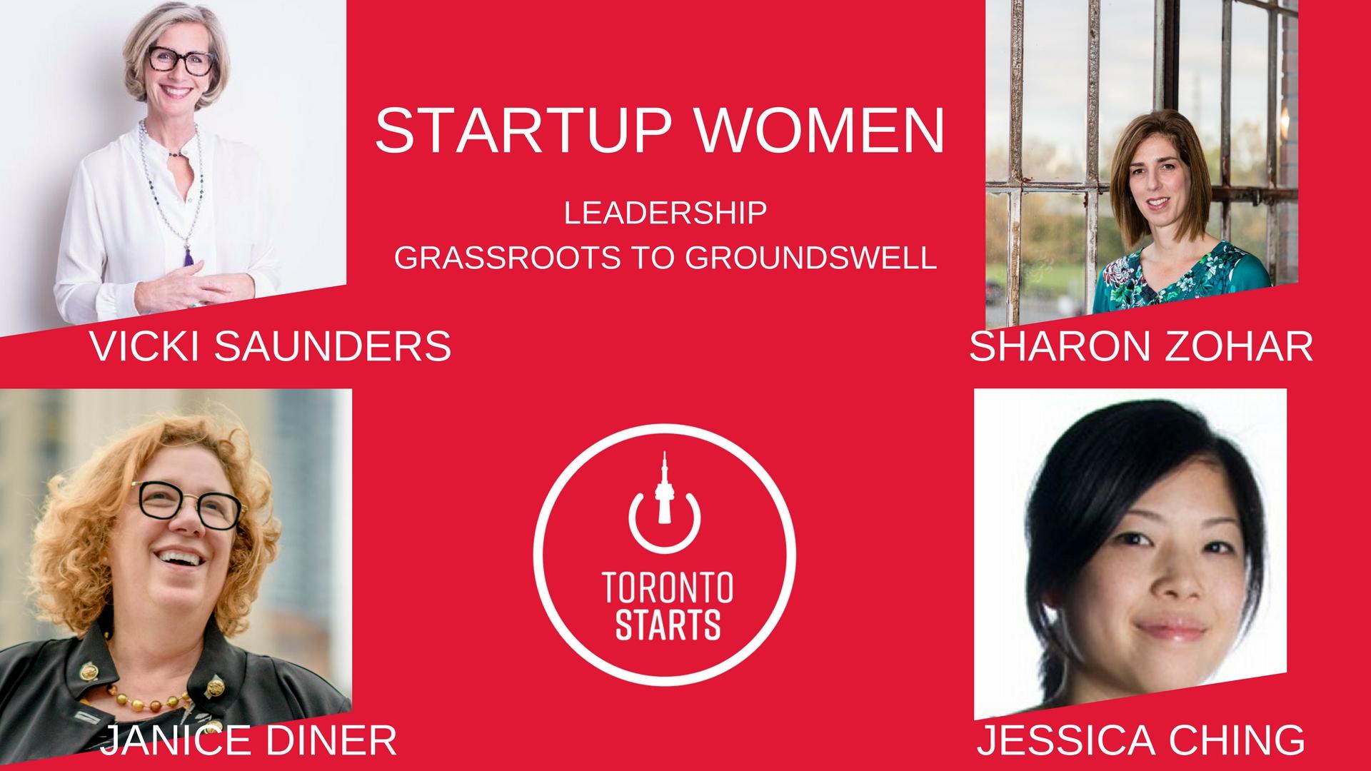Startup Women Leadership Vicki Saunders & Sheeo by TorontoStarts