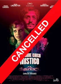The Great Mystical Circus Film Poster: Cancelled