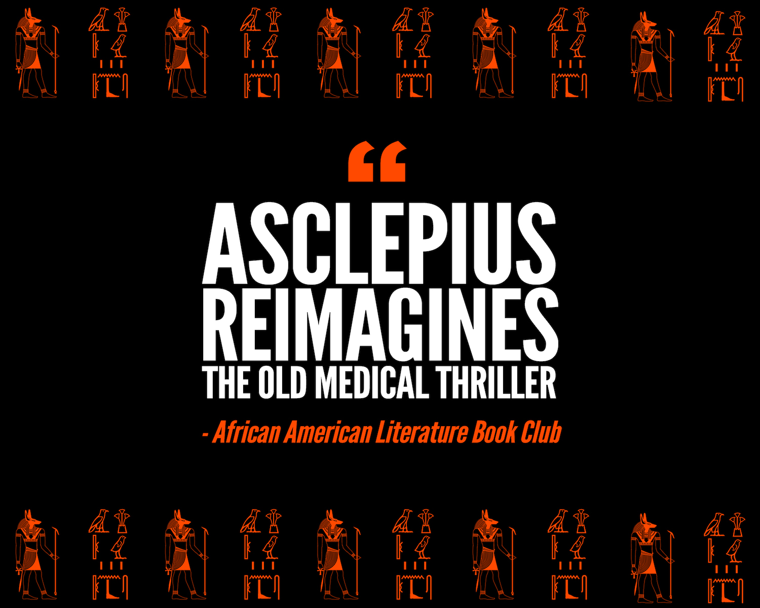 ASCLEPIUS Book Review by African American Literature Book Club