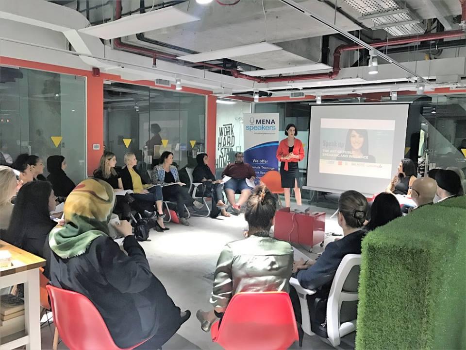 A Glimpse of Public Speaking Workshop