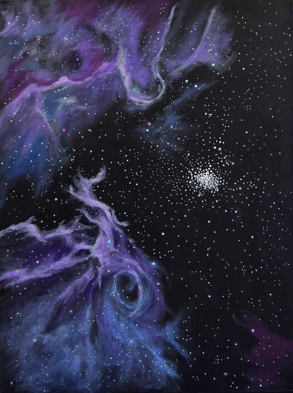 Painting of stars