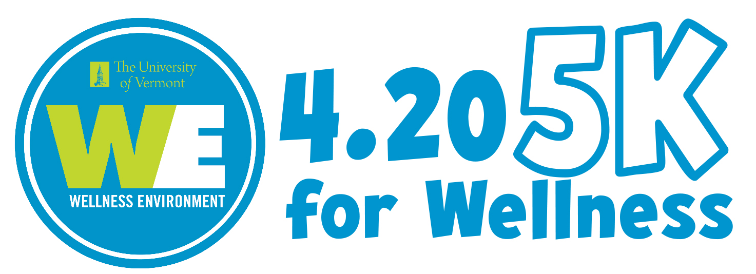 WE 4.20 5K for Wellness Shoe Logo
