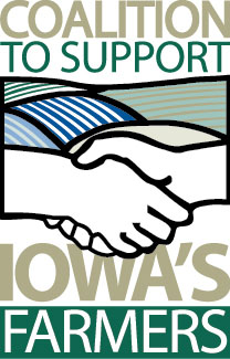 Coalition To Support Iowa Farmers Logo