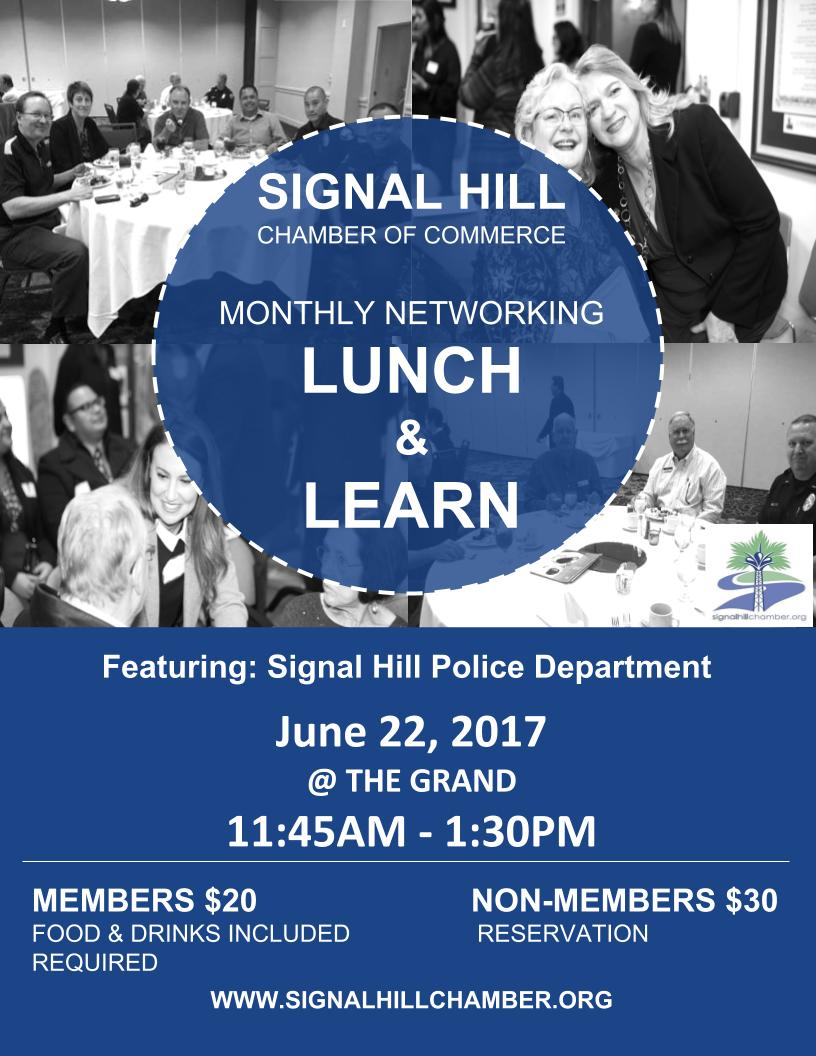 Signal Hill Chamber Luncheon with Signal Hill PD