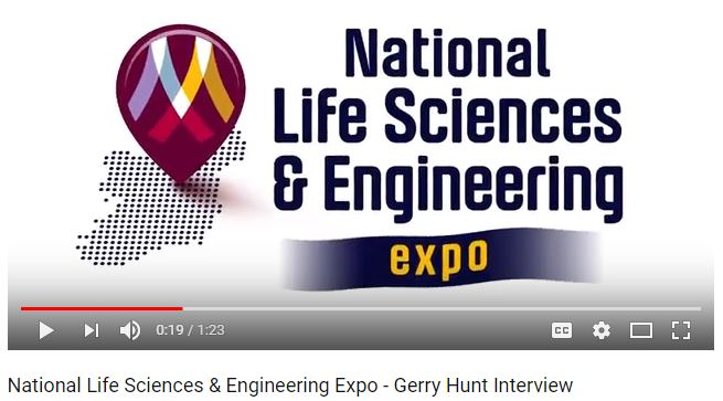 Gerry Hunt Interview at the National Life Sciences & Engineering Expo