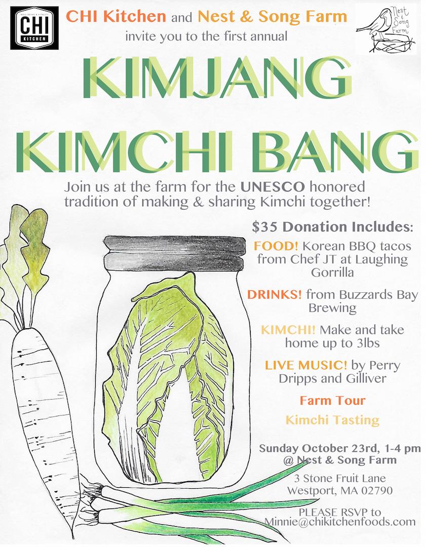 Chi Kitchen S First Annual Kimjang Kimchi Bang At Nest