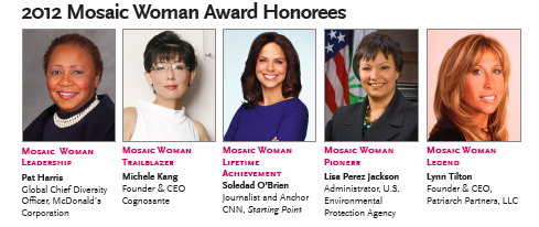 2012 Mosaic Woman Award Honorees