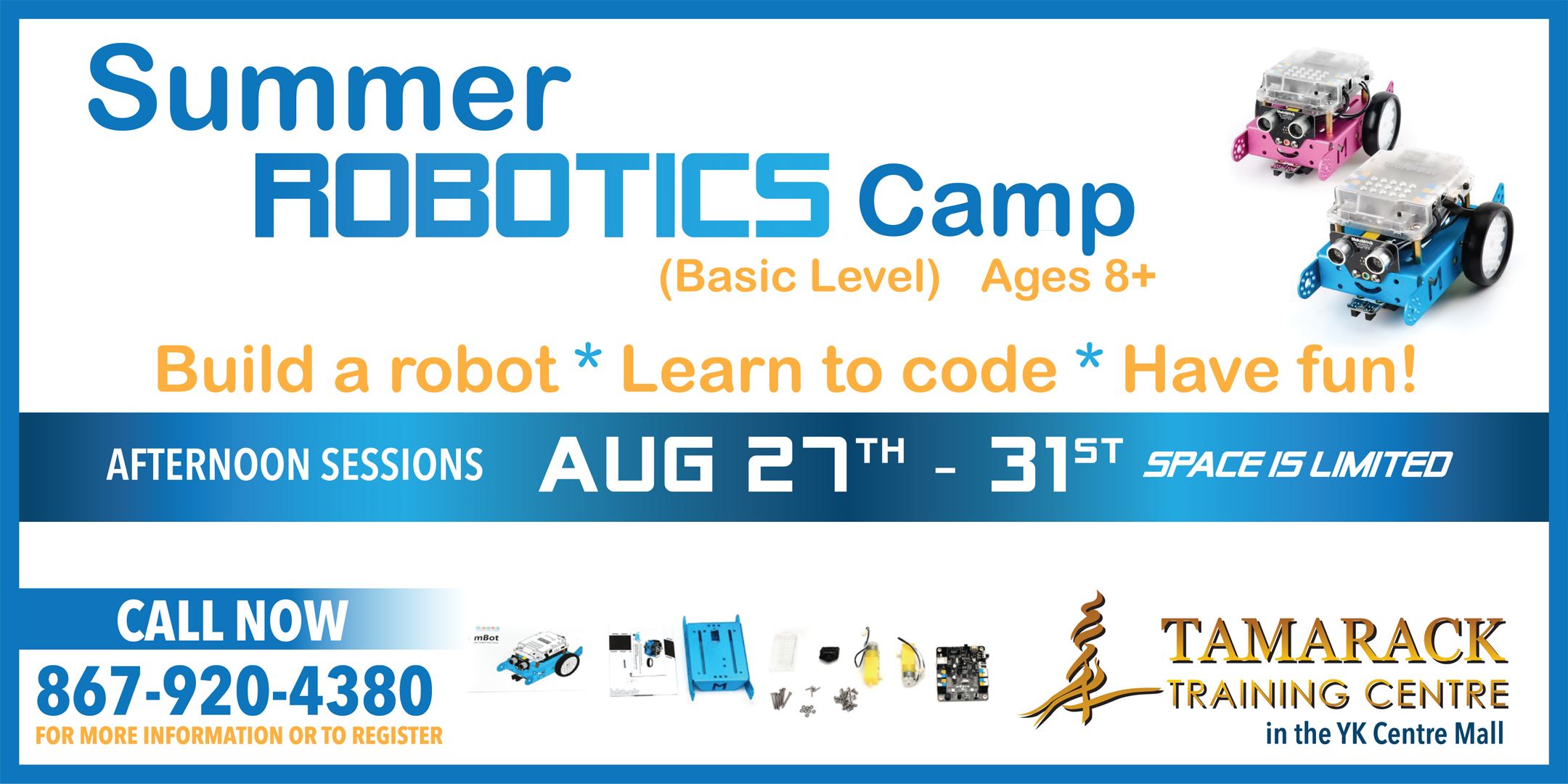 Basic Robotics Youth Camp August 27