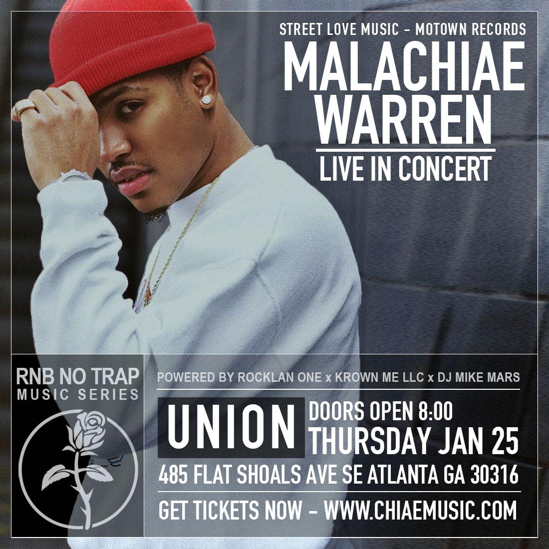 Malachiae Warren Live