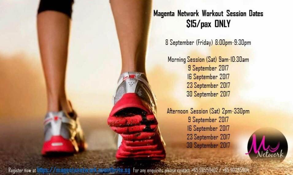 September workout dates
