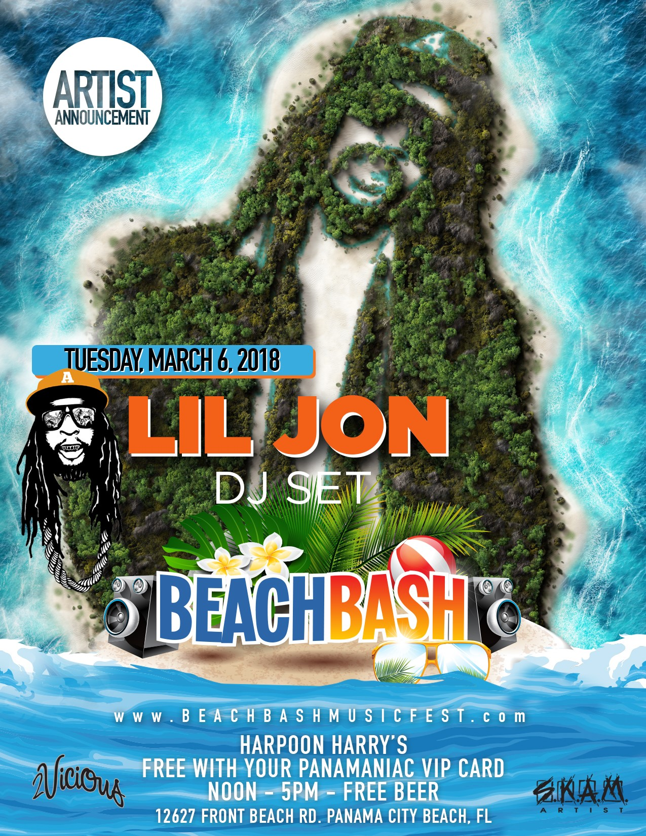 Panama city beach bash