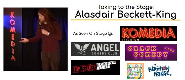 Alastdair Beckett-King As Seen On Stage At: