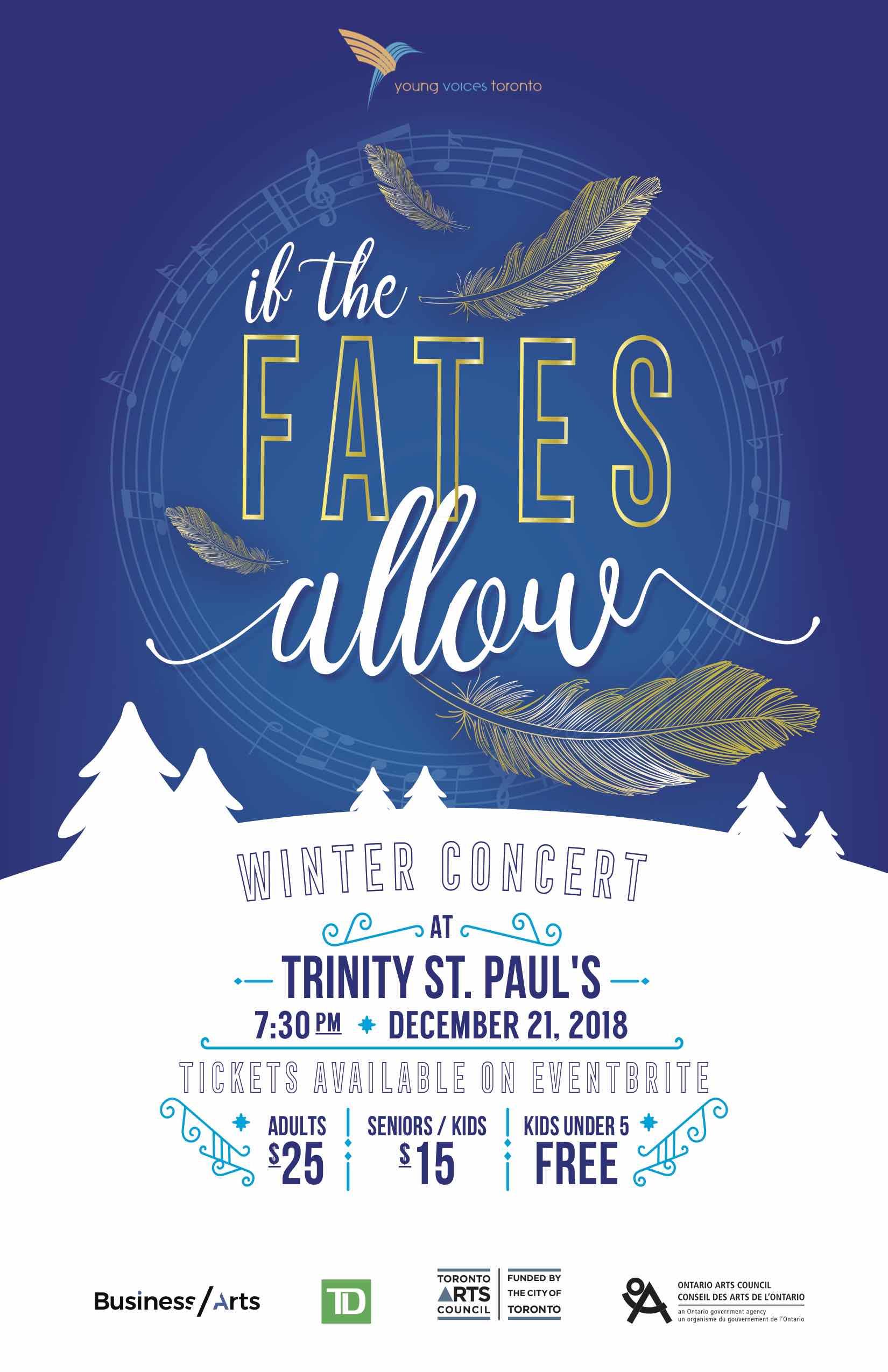 YVT Christmas Concert Poster