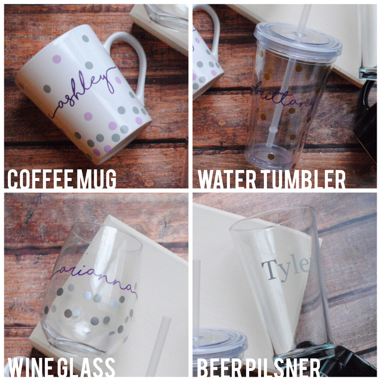 Drinkware Choices