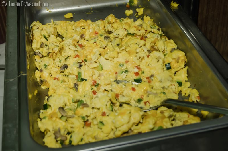 Picture - Eggs in a catering tray