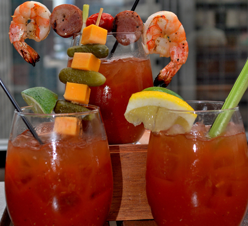 3 bloody marys.