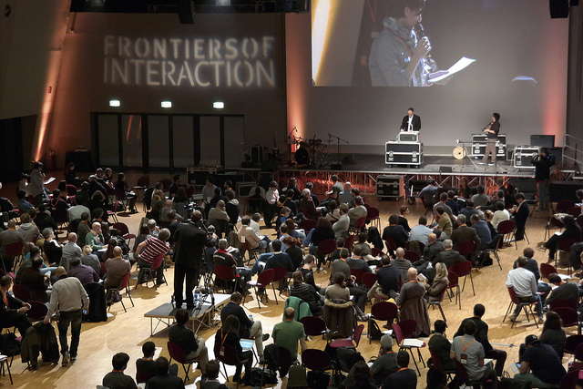 Frontiers of Interaction conference Milan design technology