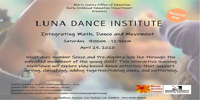 Image of LUNA DANCE April 2020 Flyer
