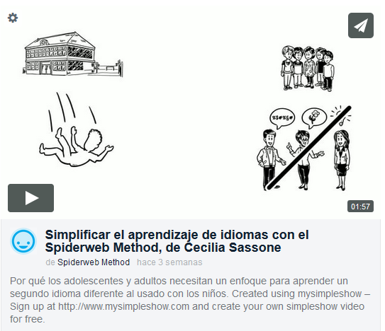 Vimeo Video on Spiderweb Method