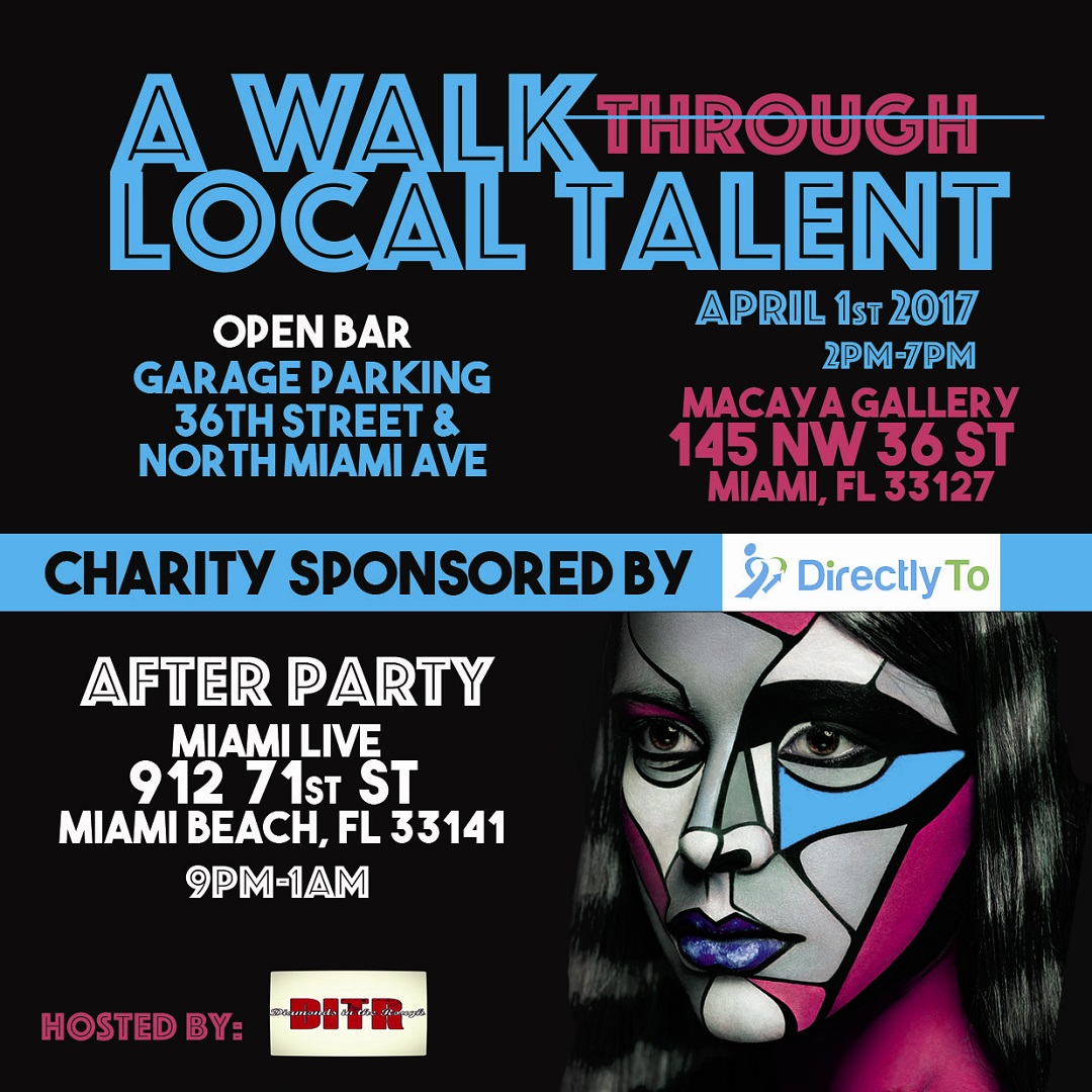 Second Annual A Walk Through Local Talent