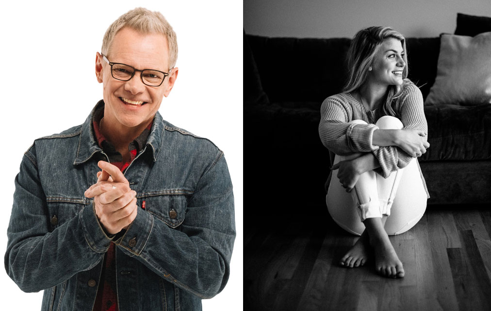 Steven Curtis Chapman and Jillian Edwards