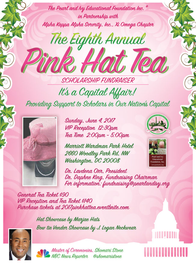 2017 Pink Hat Tea Flyer
