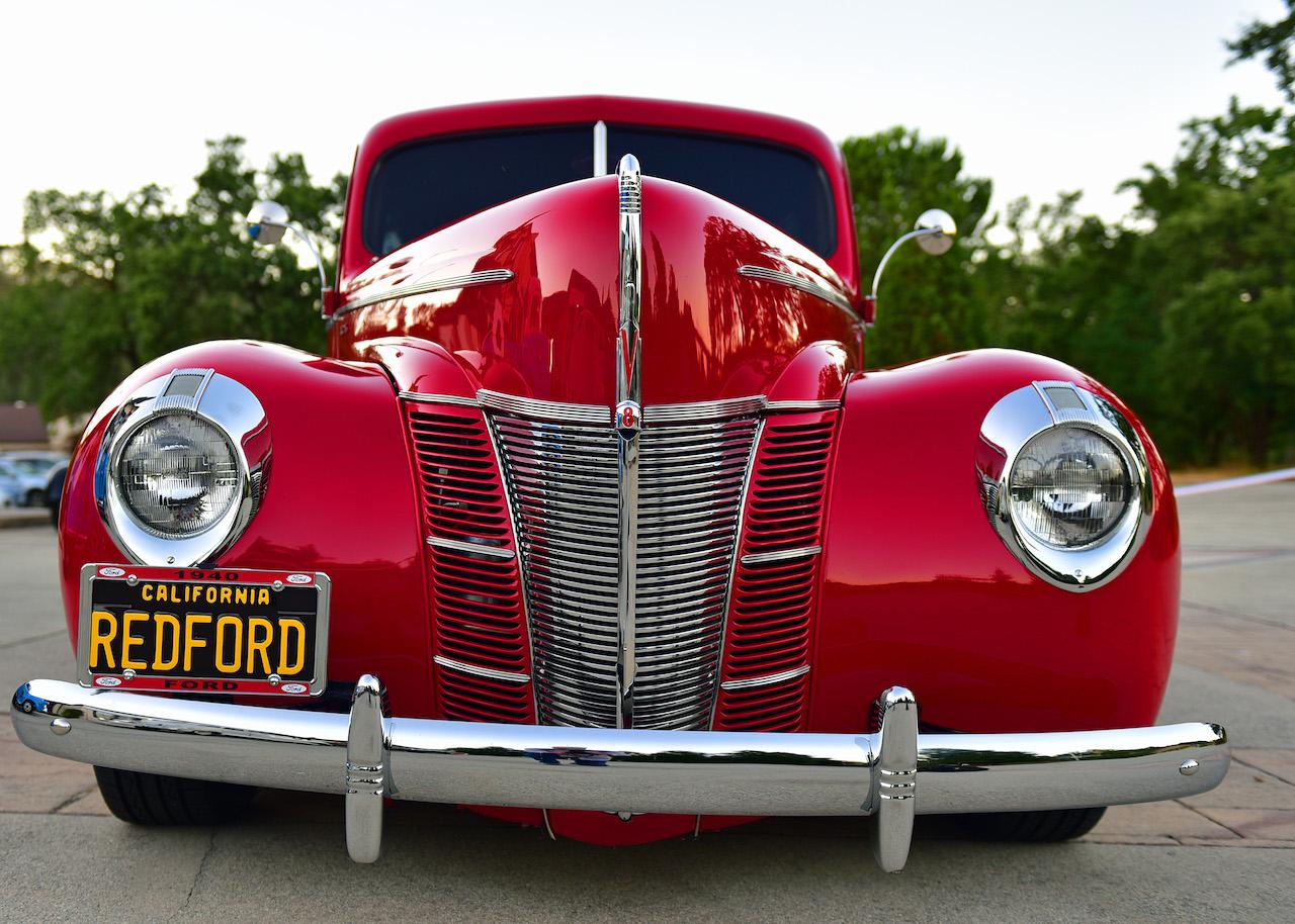 Frank Little Vintage car