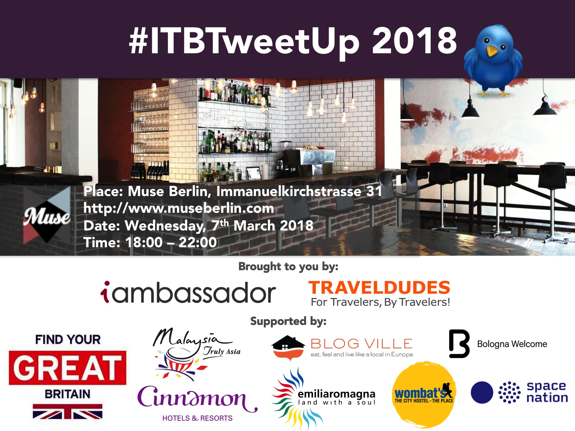 ITB Tweet-up 2018 logo