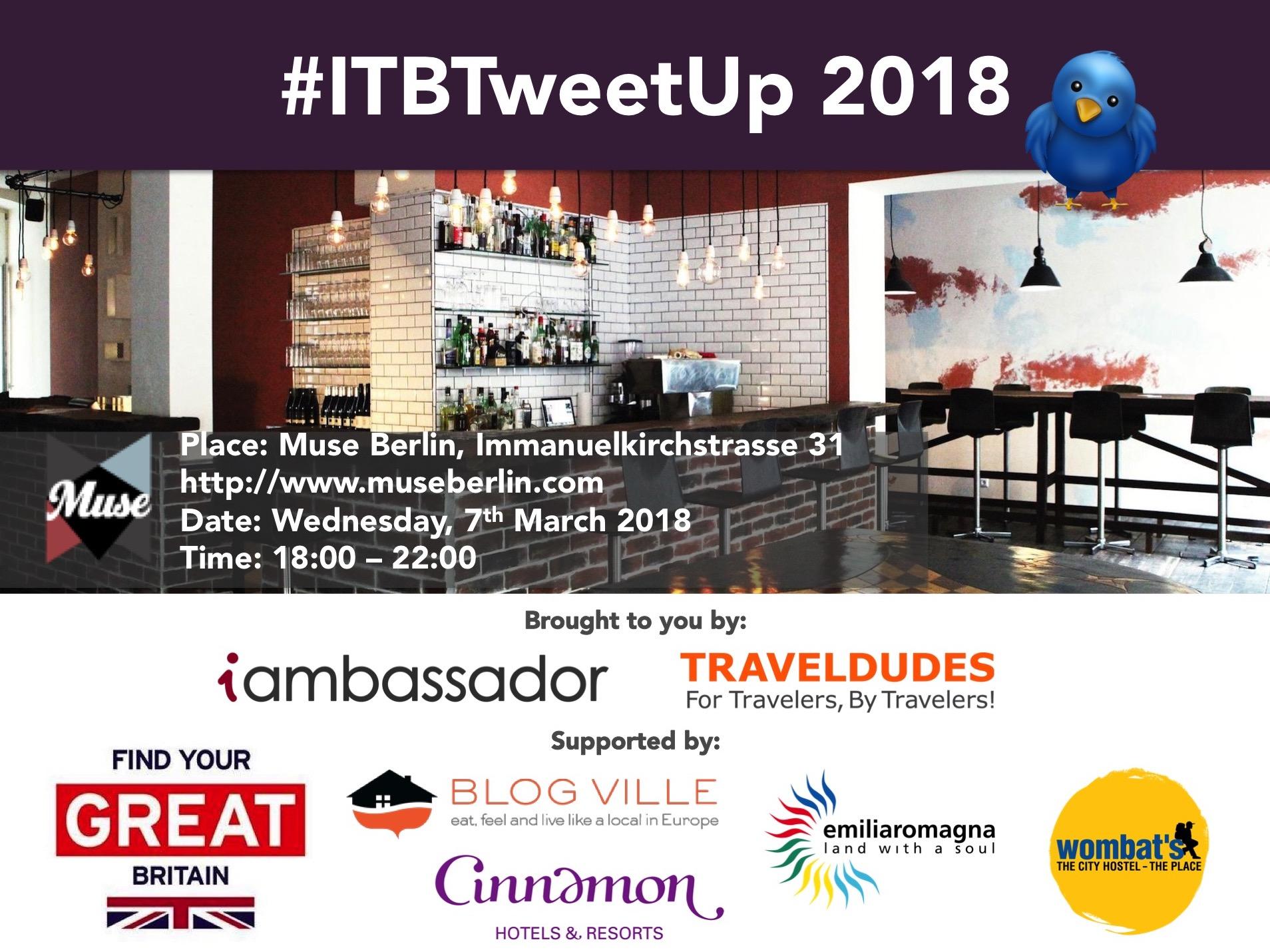 ITB Tweet-up 2018 logo
