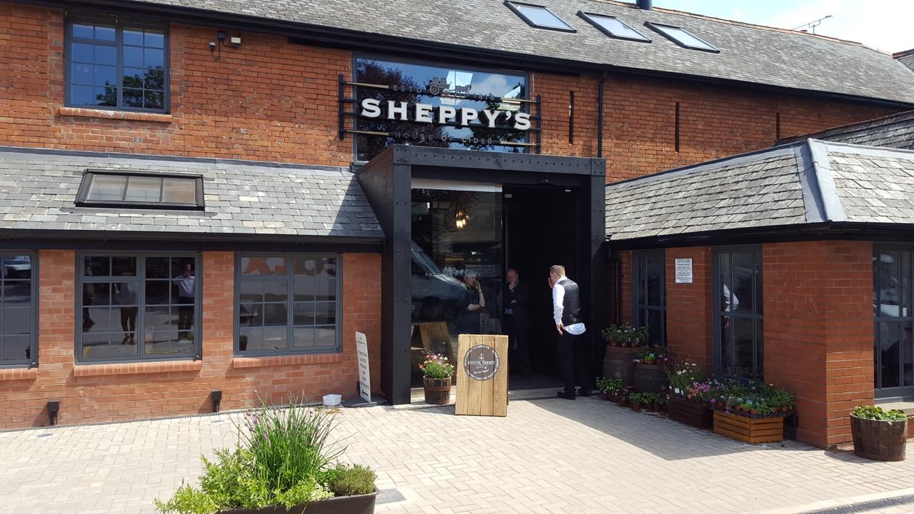 Sheppy's entrance