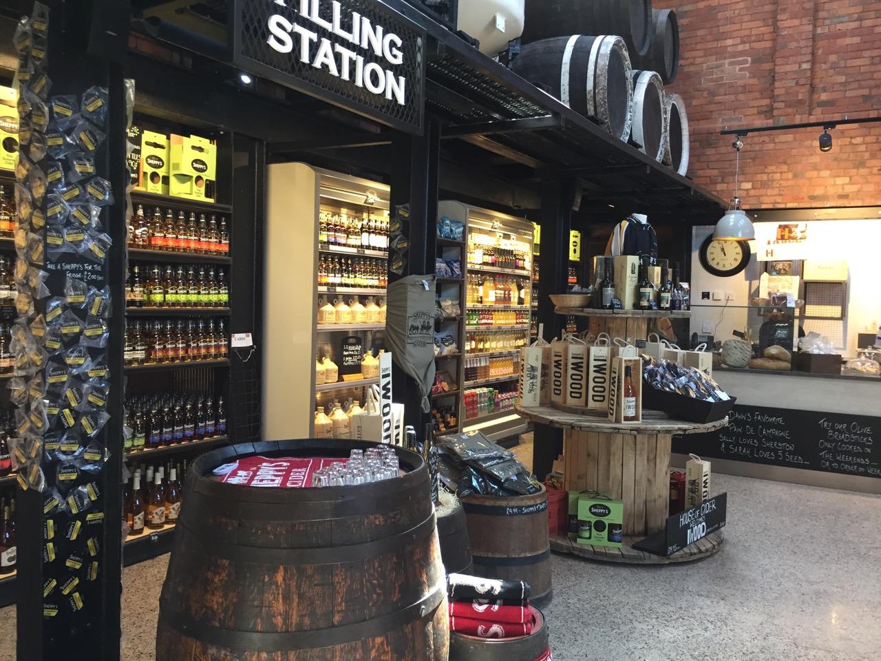Sheppy's new shop