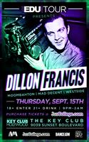 Dillon Francis @ Key Club - Los Angeles, CA - Sept. 15th