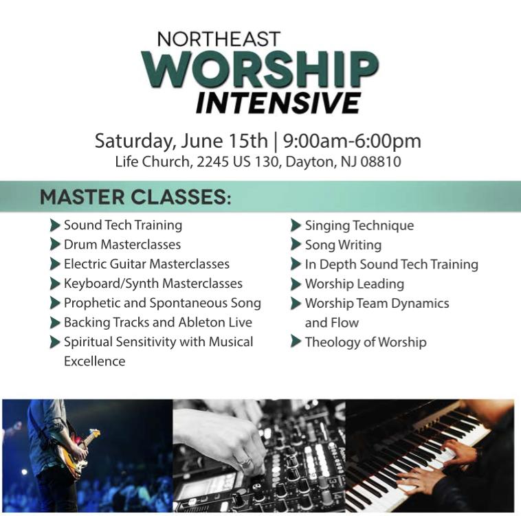 Northeast Worship Intensive 2019 - 15 JUN 2019